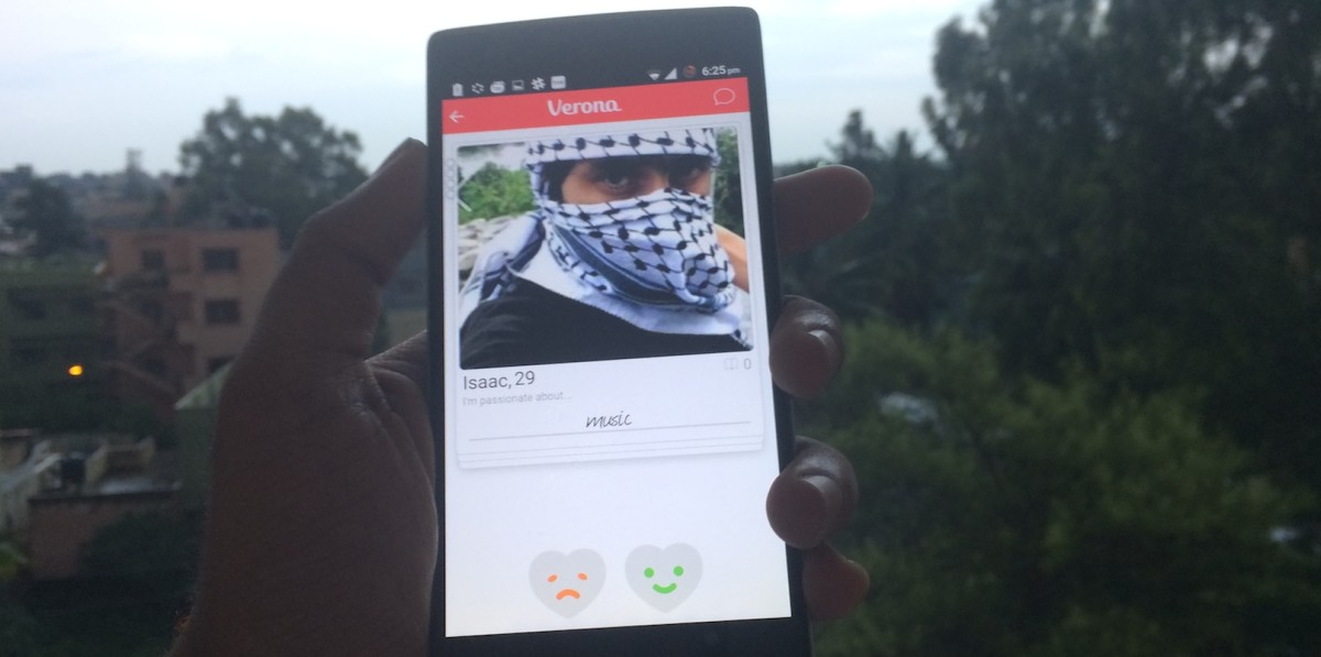 How a misguided American is trying to achieve peace in the Middle East with a dating app