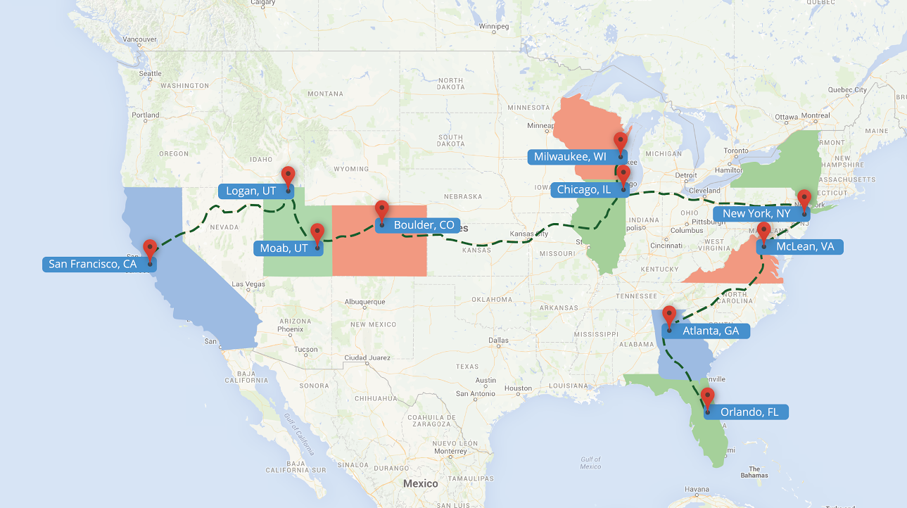 The Google Maps Team Is Making An Epic Us Road Trip