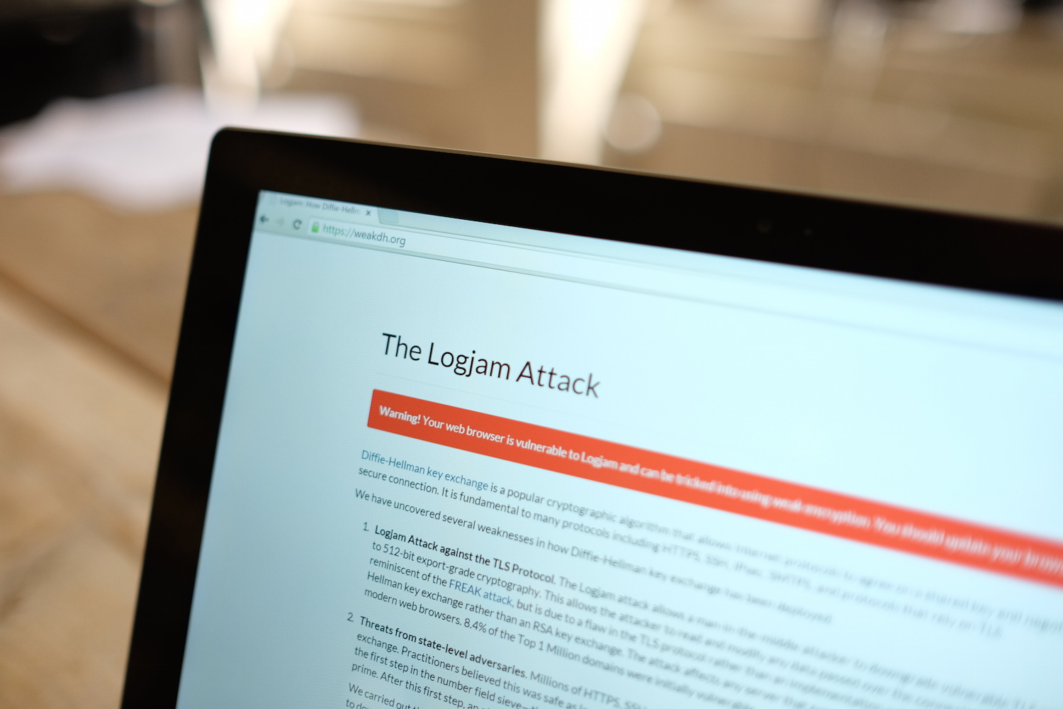 Big bug found in SSL called Logjam, here's what you can do