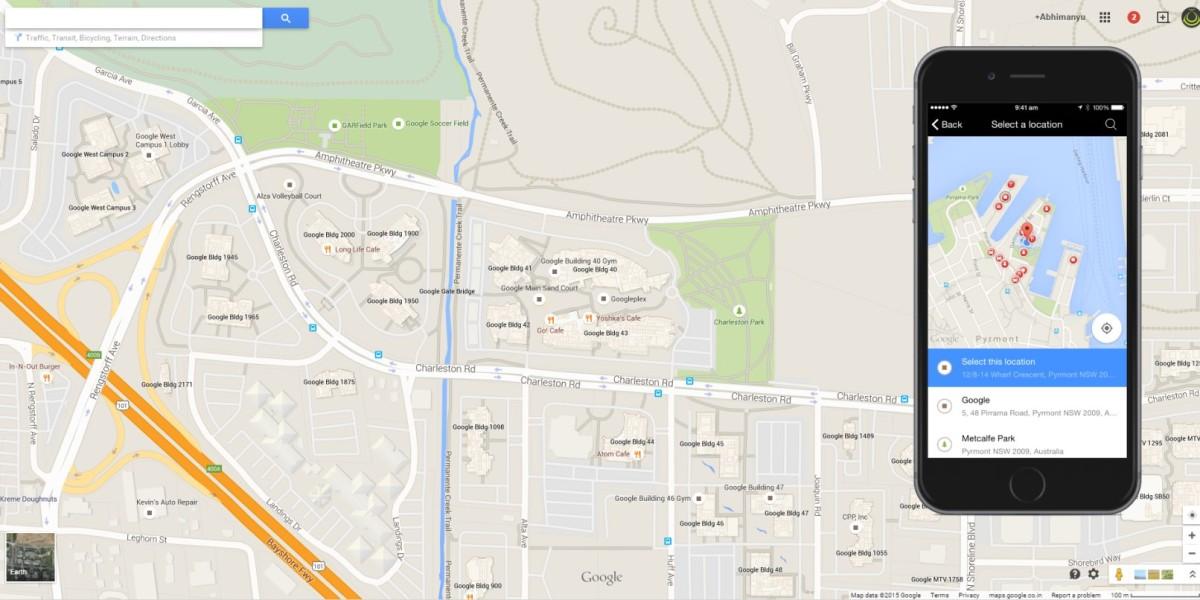 Google Places iOS