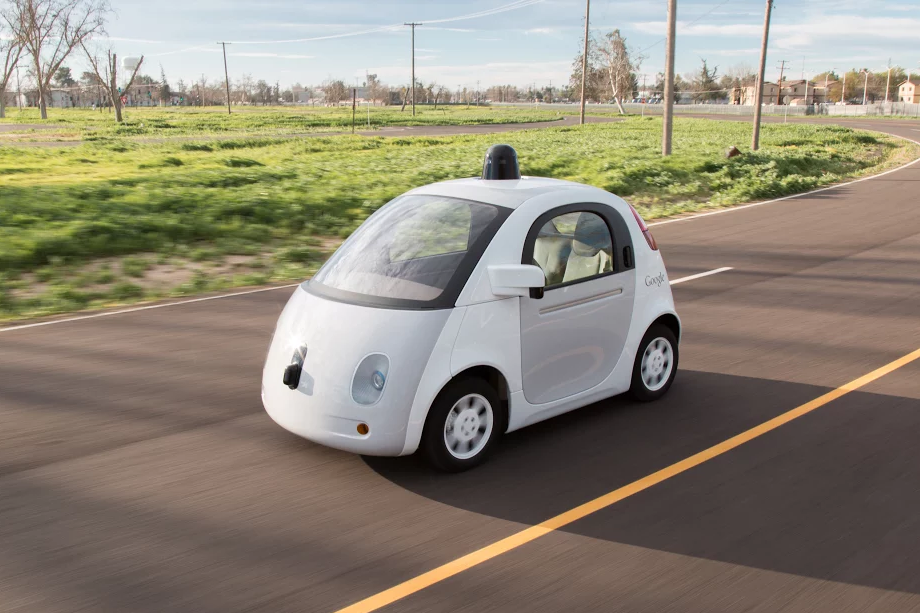 Google goes full fanboy with the naming of the roads at its self-driving car campus