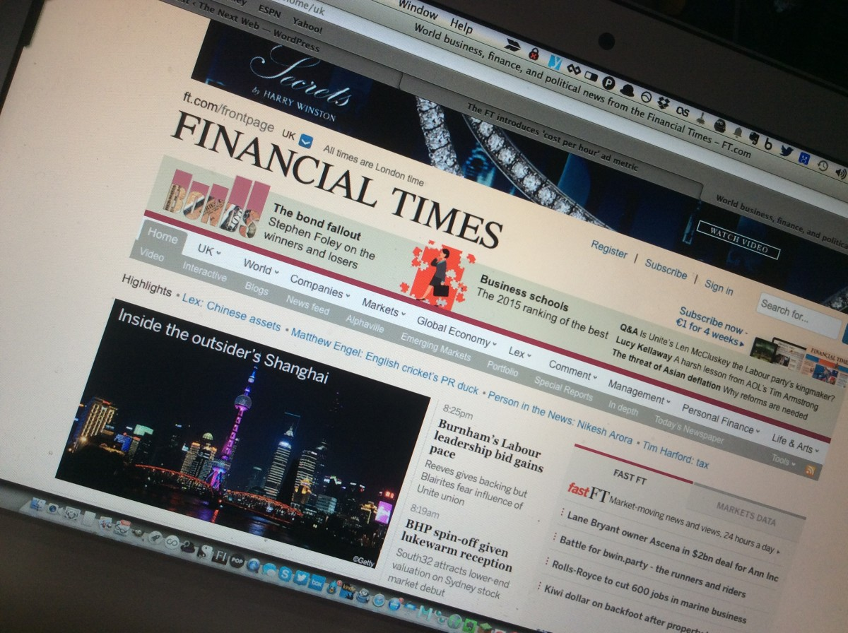 The Financial Times introduces 'cost per hour' ad metric to focus on engagement