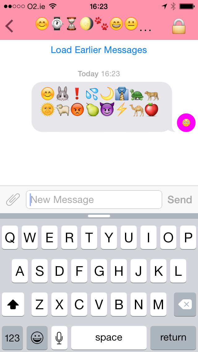 Secretmoji For Ios Hides Your Chats As Strings Of Emoji
