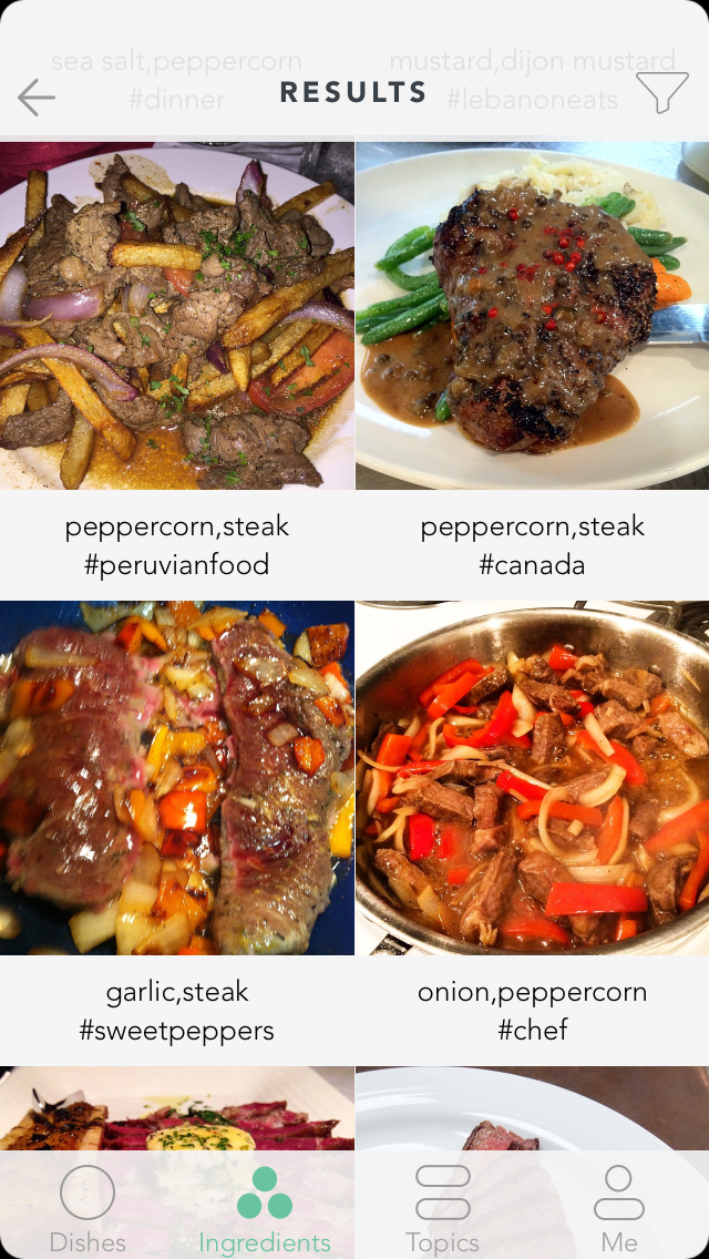 Handpick turns instagram into the worlds largest recipe book tapping through from an enticing image takes you through to a page showing you the necessary ingredients and related recipes as well as linking you to the forumfinder Gallery