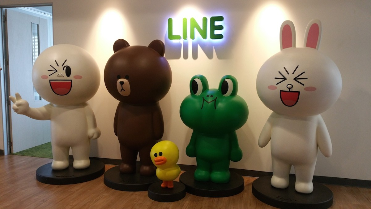 A glimpse inside LINE's adorable Bangkok office and the global effect of its messenger culture