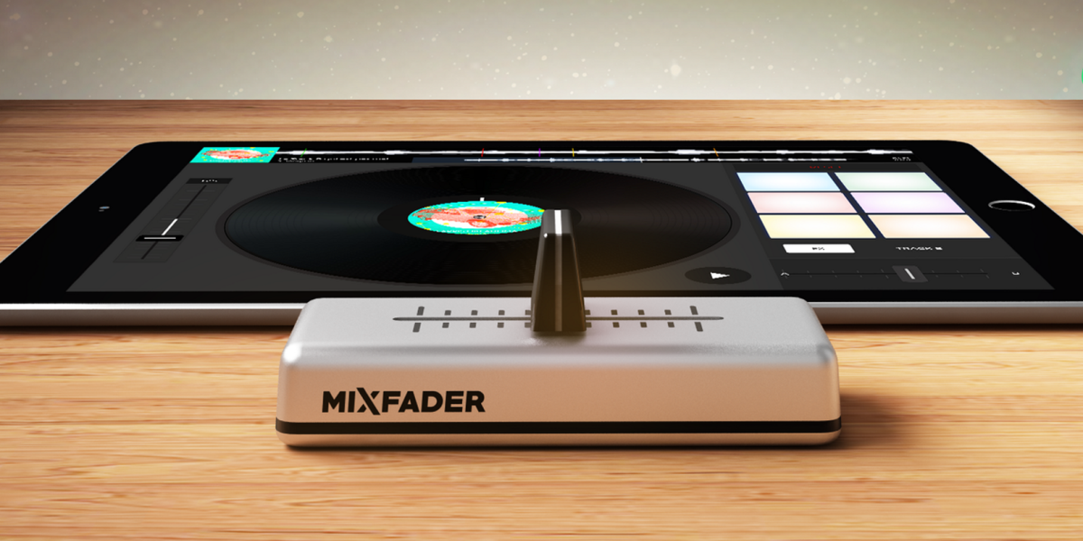Edjing wireless 'Mixfader' crossfader comes to Kickstarter, shipping in November
