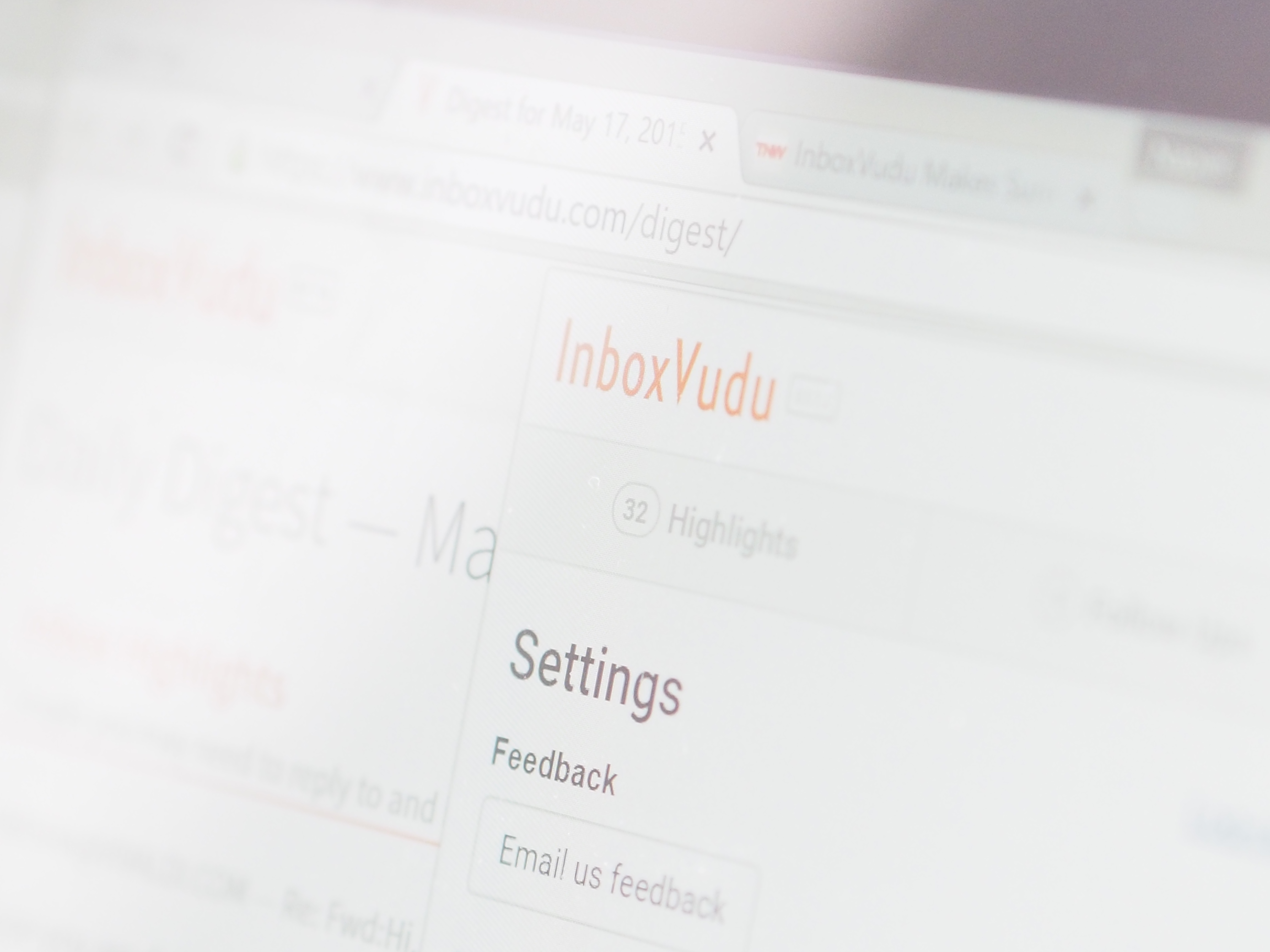 InboxVudu's Chrome extension makes a real-time to-do list from your most important emails