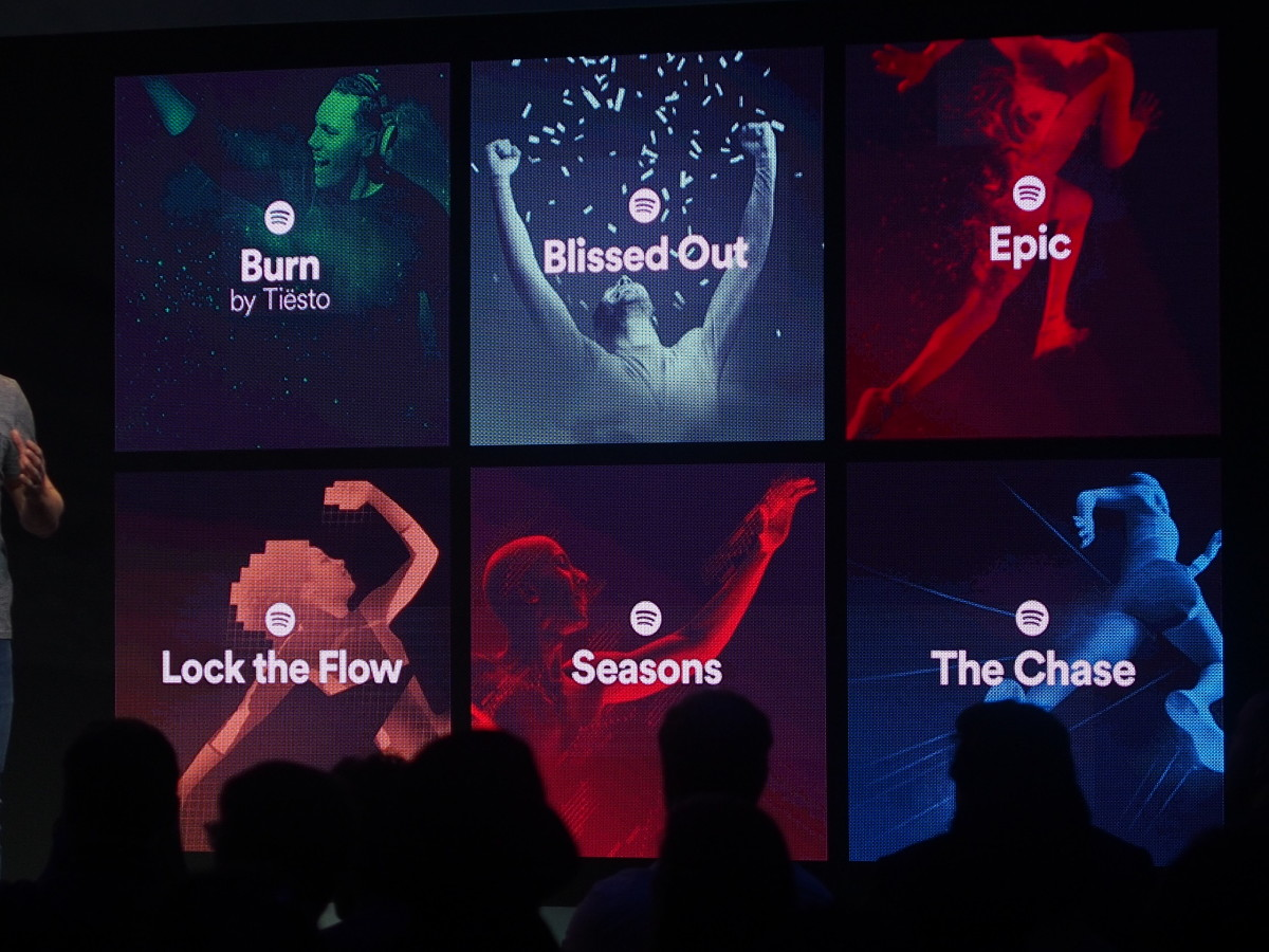 Spotify introduces a new track format with variable tempos