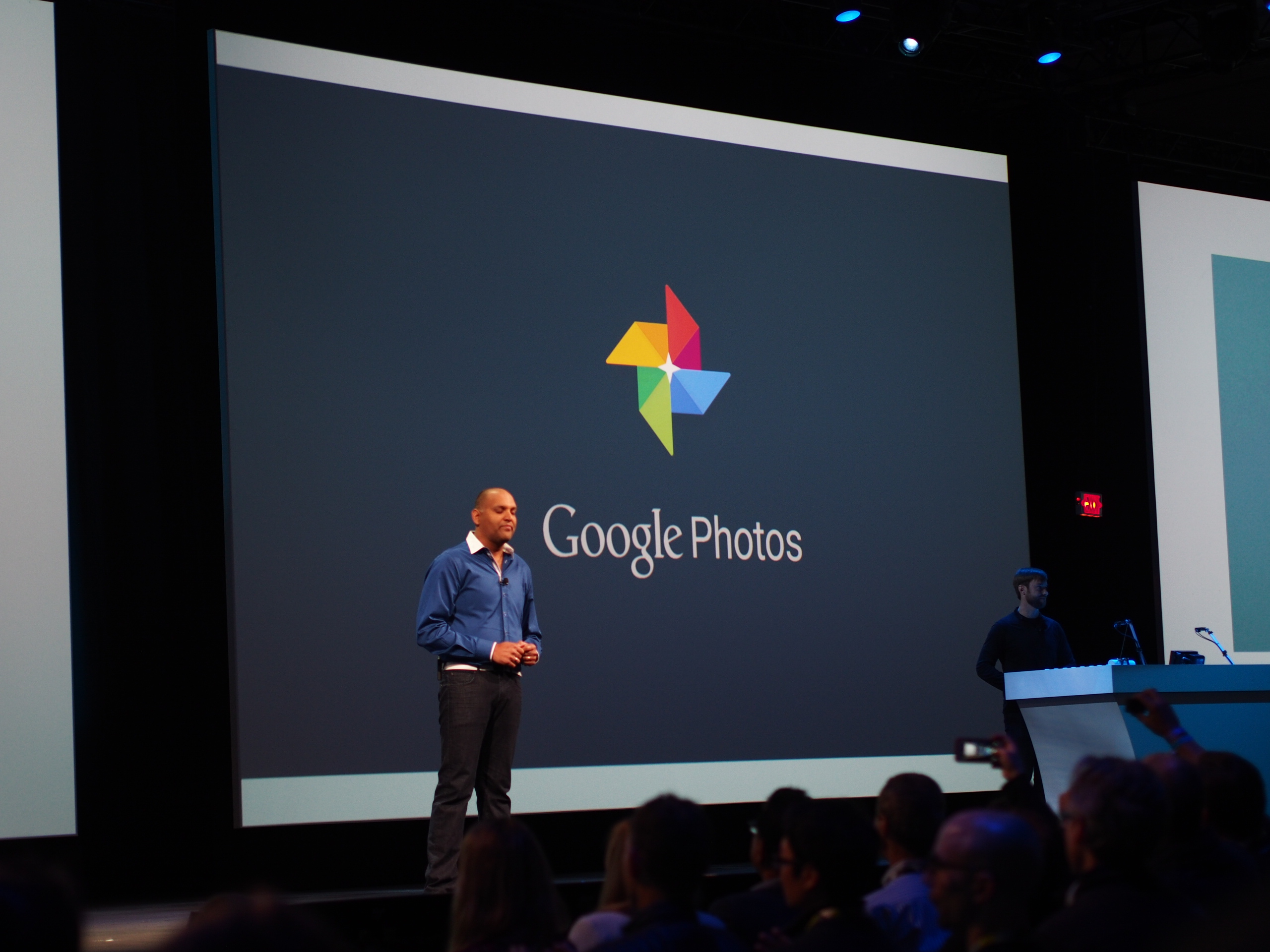 Google Photos behind the app -- scanning makes it special