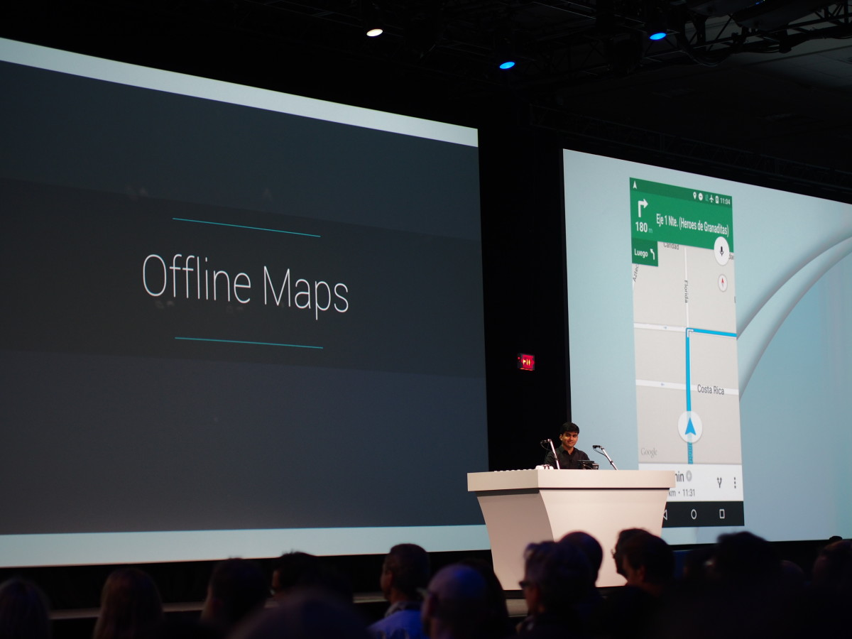 Google announces offline Maps support, including navigation and reviews