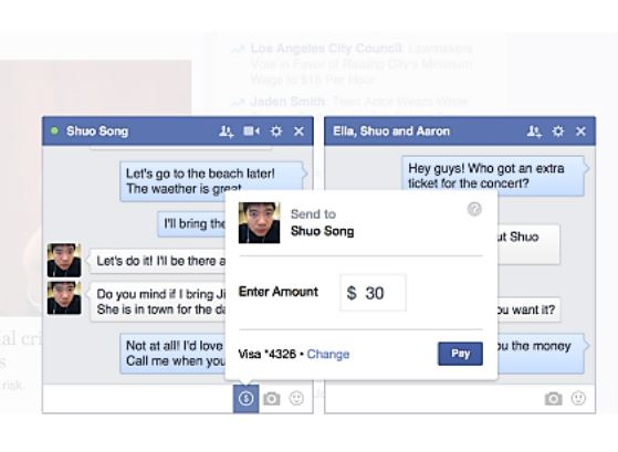 Payments Facebook