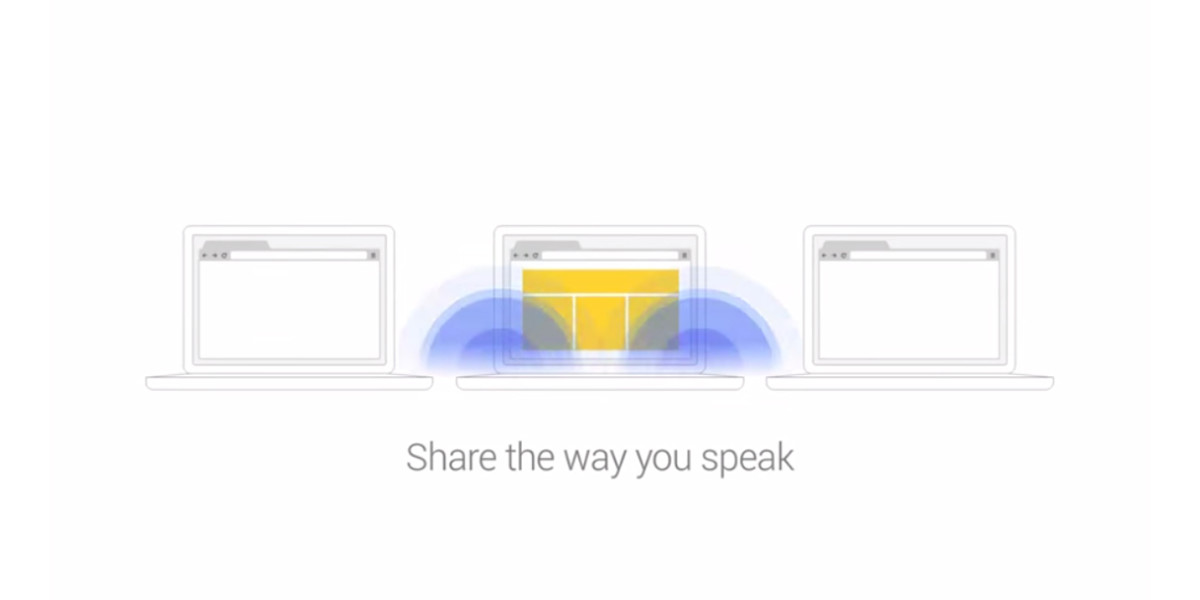 Google's Tone Chrome extension transmits between computers via sound