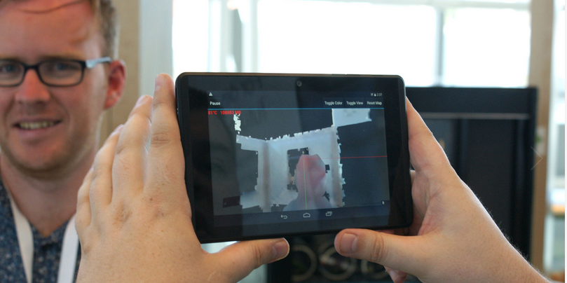 Google's experimental Project Tango 3D-scanning tablet went on public sale… Then disappeared