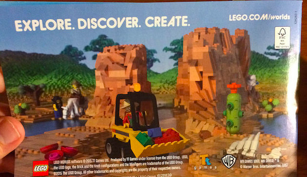 It looks like Lego is building a Minecraft rival