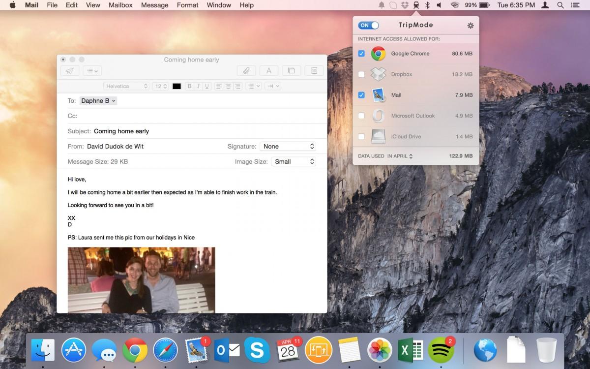 Screenshot - 03 - Mail and TripMode