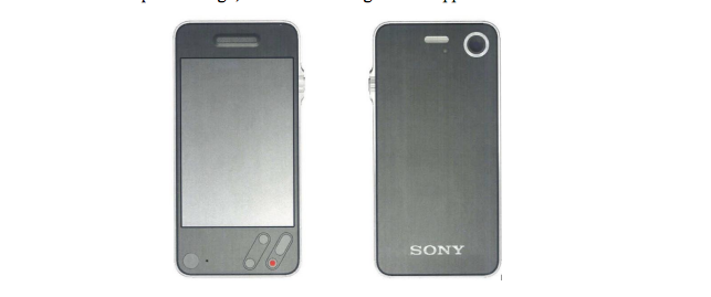 Shin Nishibori's 'Sony' iPhone prototype was one Howarth discussed in the project's early days