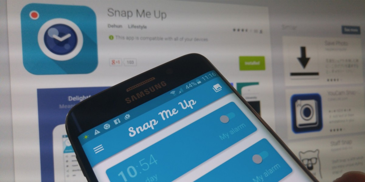 Snap Me Up's selfie alarm clock combines two of my most hated things