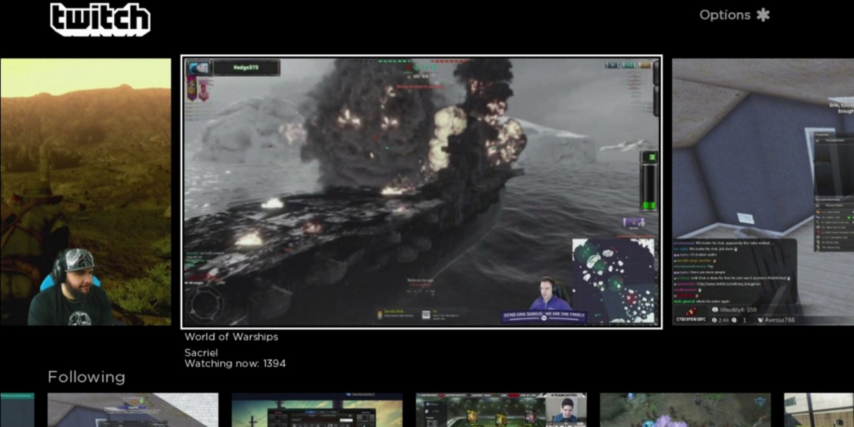 Twitch's live-streaming games channel is now available on Roku devices