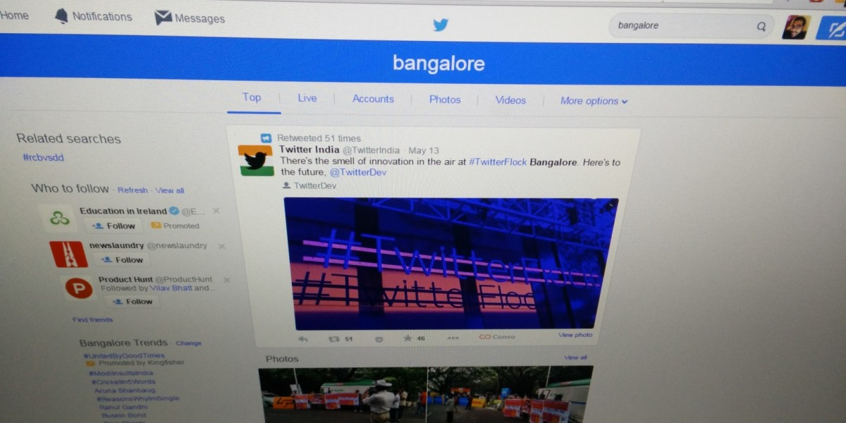 Twitter rolls out new search results interface on its site