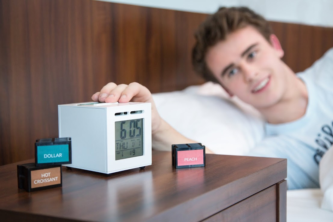 SensorWake Olfactory Alarm Clock Launches on Kickstarter