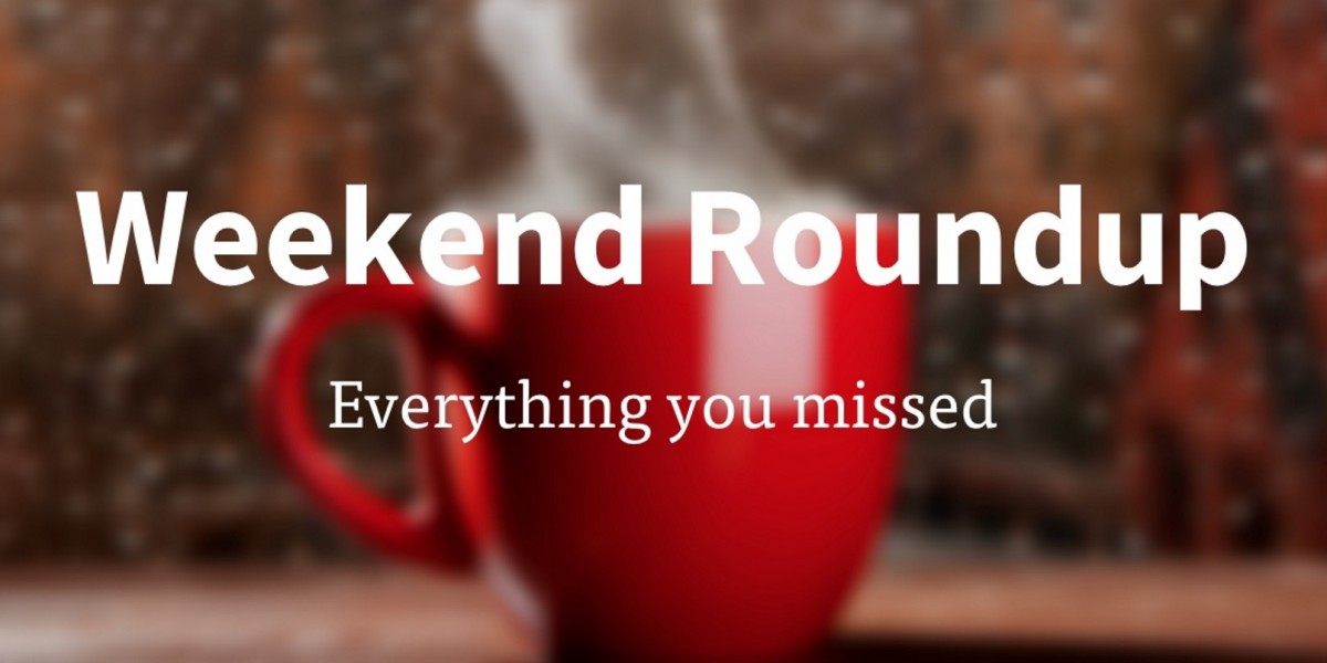 Offline over the long weekend? Read all of the tech news you missed here