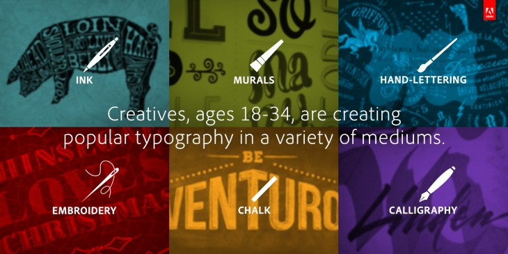 Adobe's survey of young artists finds inspiration in the old-fashioned tools