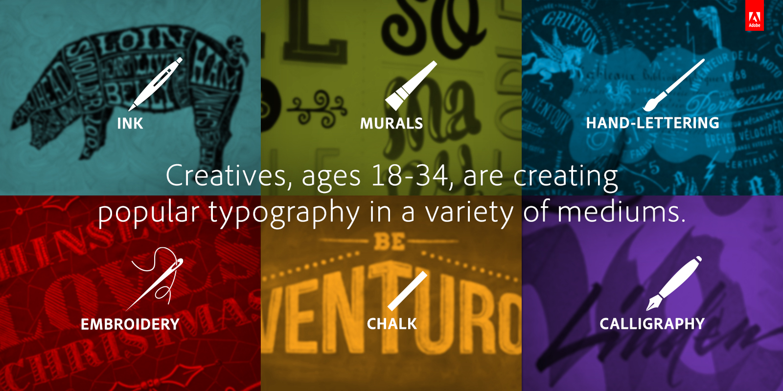 Adobe: Young Artists Find Inspiration In Old-Fashioned Tools