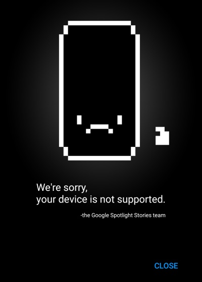 device not supported