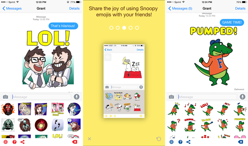 Picture emoji app