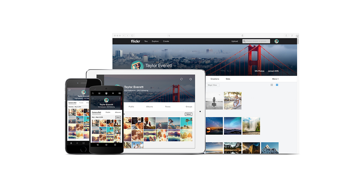 Yahoo Delivers Massive Flickr Overhaul For Web and Mobile