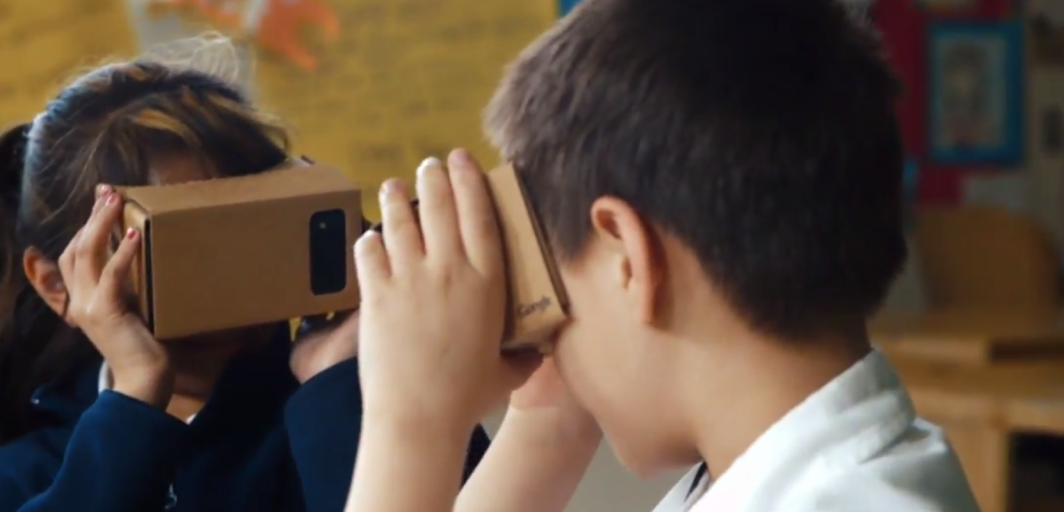 google cardboard expeditions