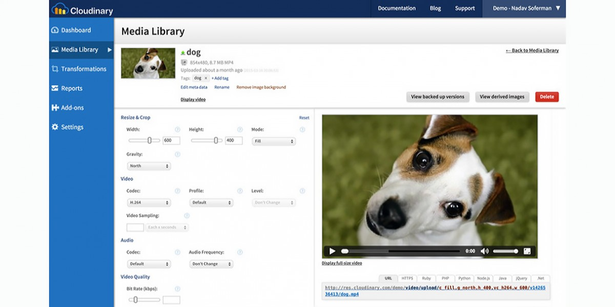 Cloudinary adds video to its roster of services