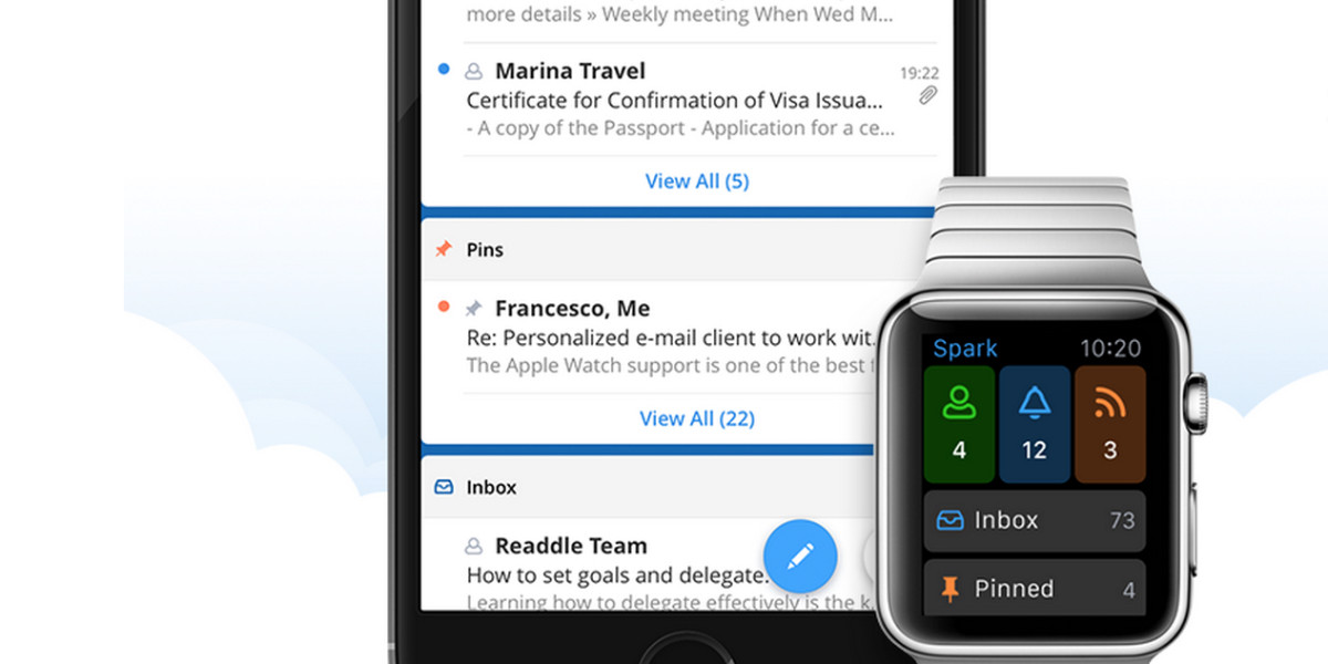 Spark is a new iOS email app for power users, with some clever ideas
