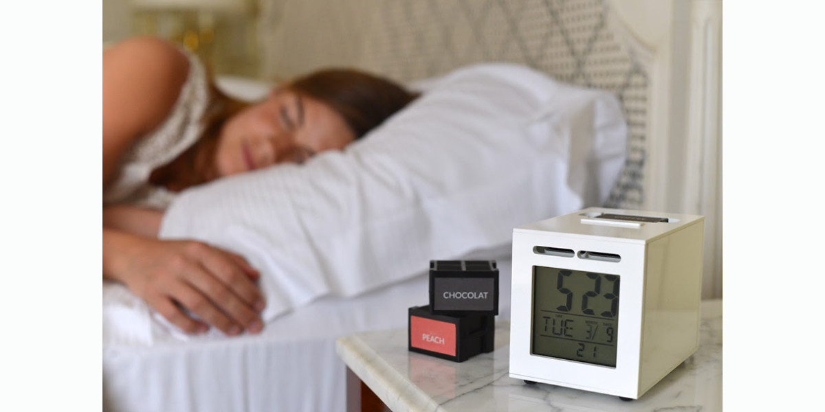 SensorWake launches on Kickstarter to make waking up a pleasant olfactory experience