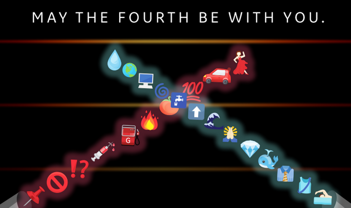 Bill Nye celebrates Star Wars Day by explaining the science of holograms with emojis