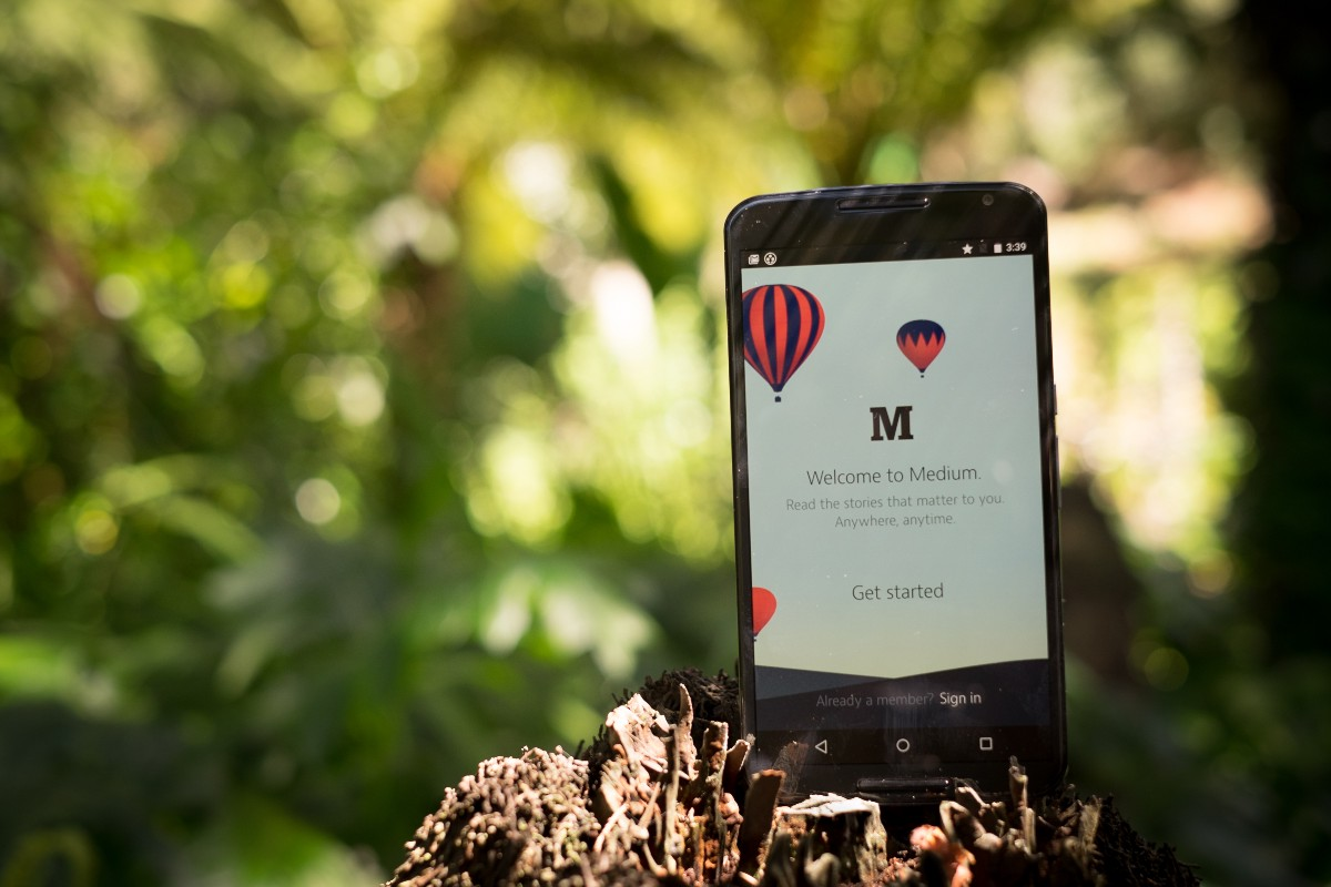 Medium finally releases a native Android app