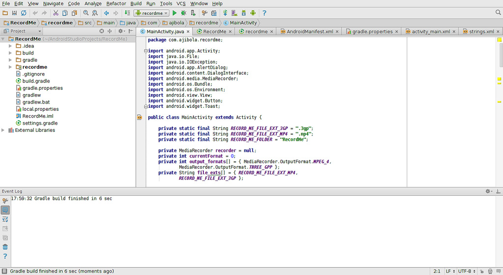 Google plans to support its Android Studio IDE instead of Eclipse