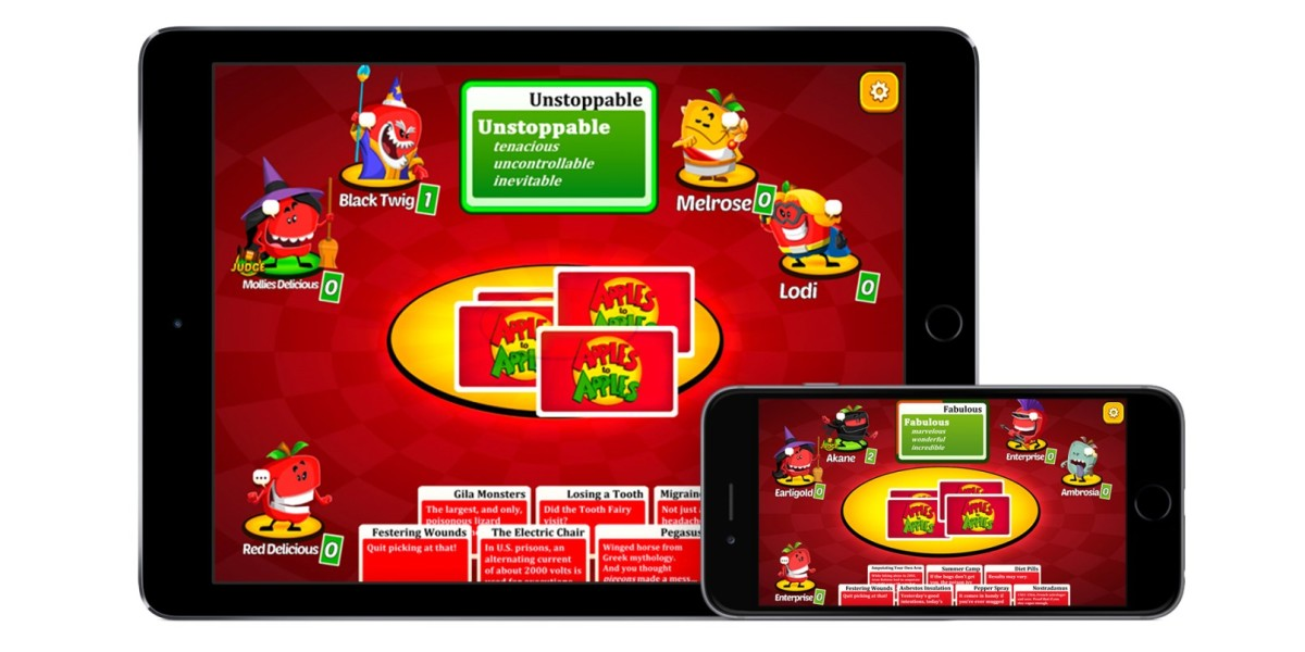 Apples to Apples iOS