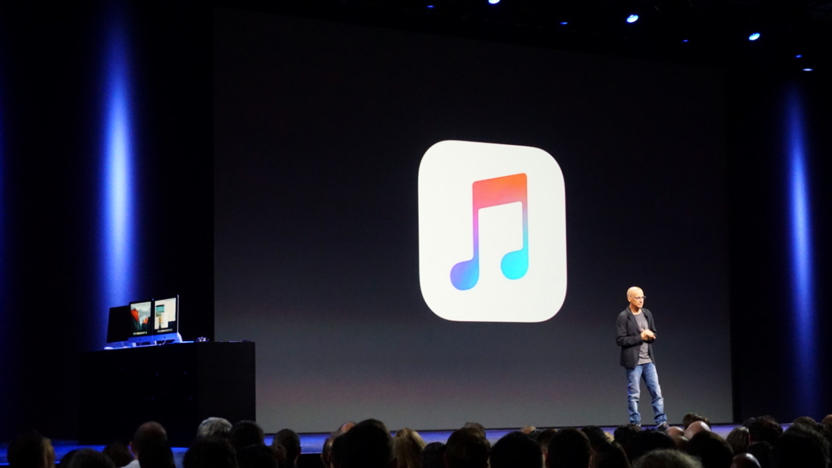 Apple Music will stream at 256kbps, below the 'industry standard' 320kbps