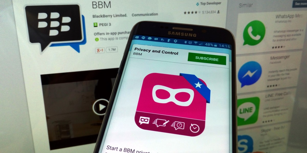 BlackBerry adds private chat feature to BBM on iOS and Android