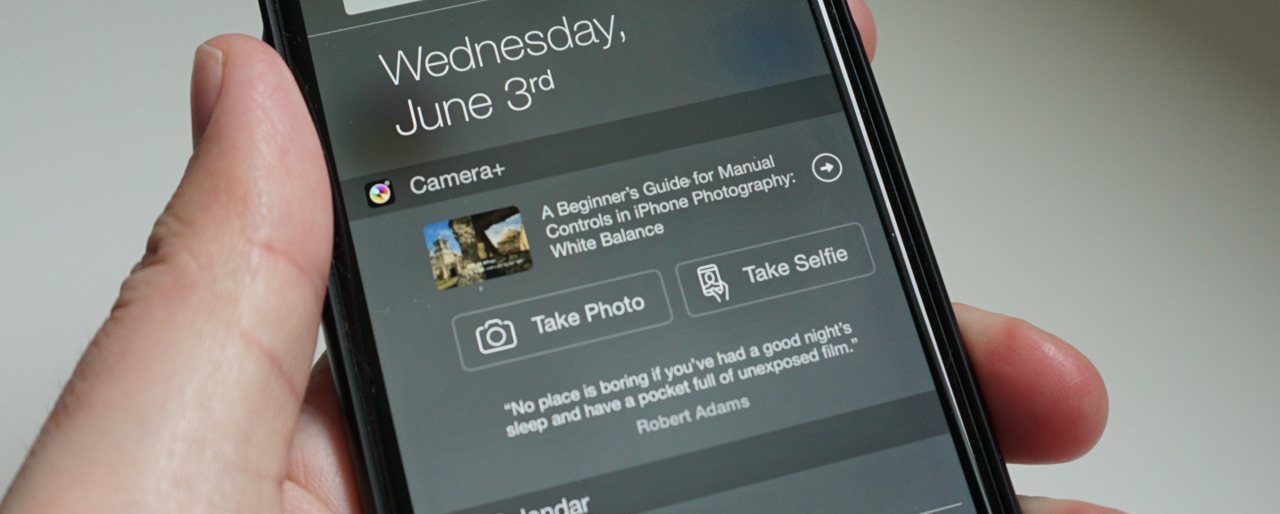 Camera+ for iOS adds dedicated selfie button in widget and Apple Watch shutter control