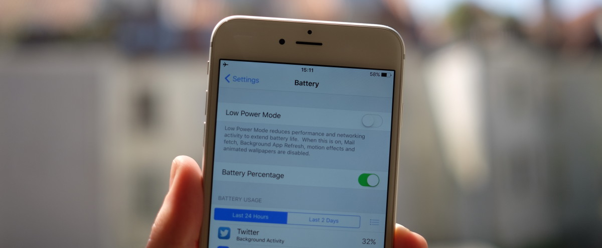 iOS 9 uses new tricks to squeeze more battery life out of the phone you already own