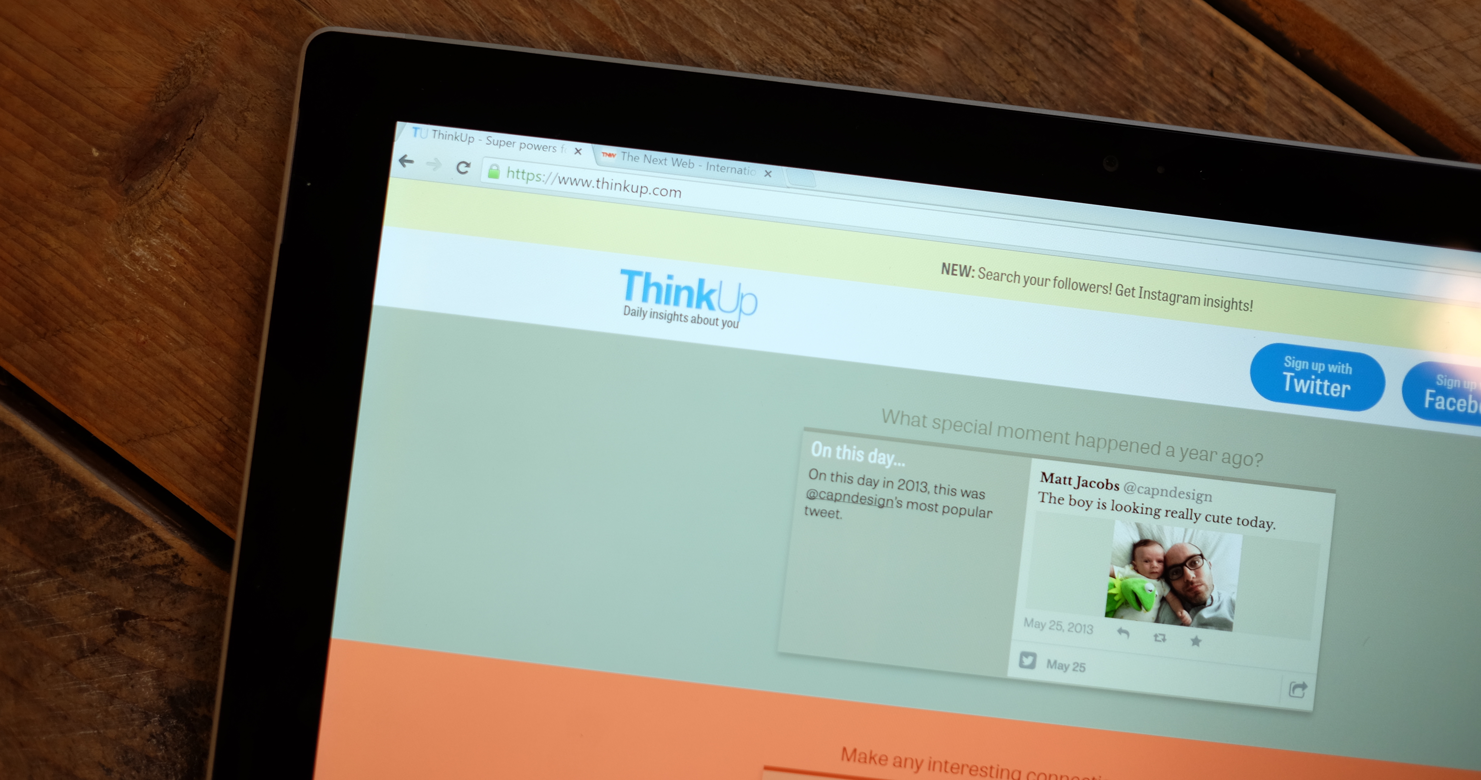 ThinkUp adds Instagram support, search for your followers