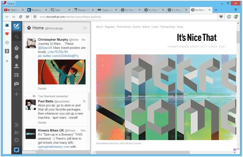 Extensions Sidebar - Tweetdeck