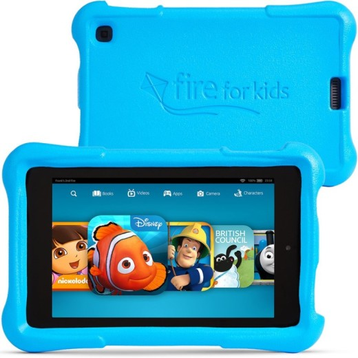Fire HD Kids Edition_Front and Back Blue image