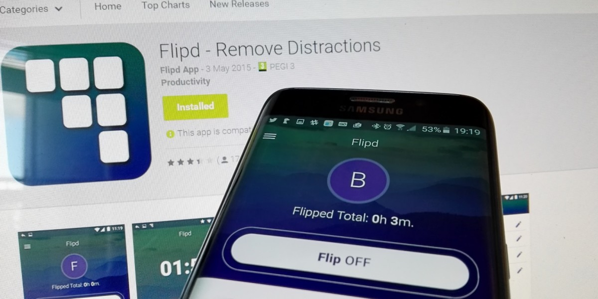 Flipd for Android wants to lock you out of your phone addiction