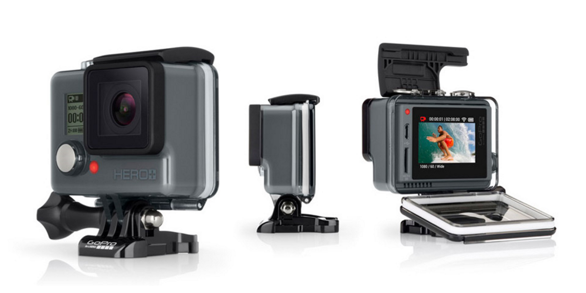 GoPro adds a touchscreen to its low-end Hero action camera