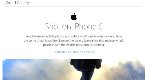 Google Chrome - www.apple.com - Apple (United Kingdom) - iPhone6 - World Gallery - 1 June 2015 09:11 Screen Shot