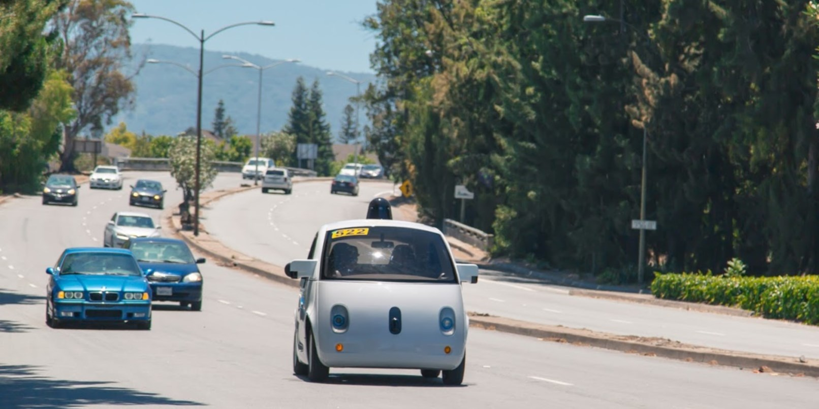 Google's testing new self-driving cars in California