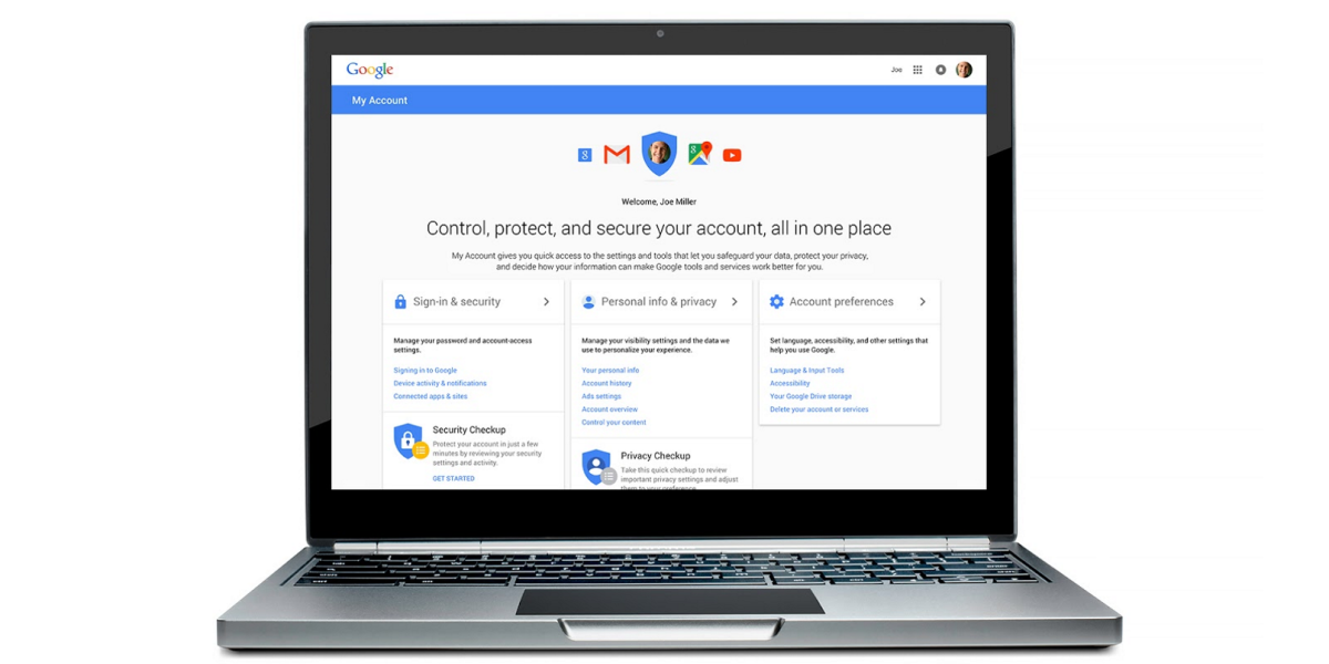 Google launches a central hub for your security and privacy settings